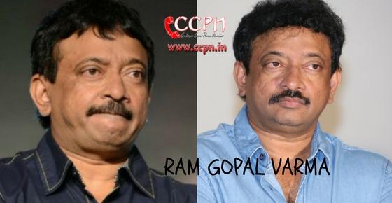 How to contact Ram Gopal Varma?