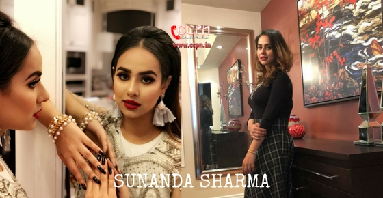How to contact Sunanda Sharma?