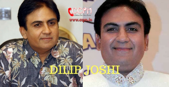 How to contact Actor Dilip Joshi?