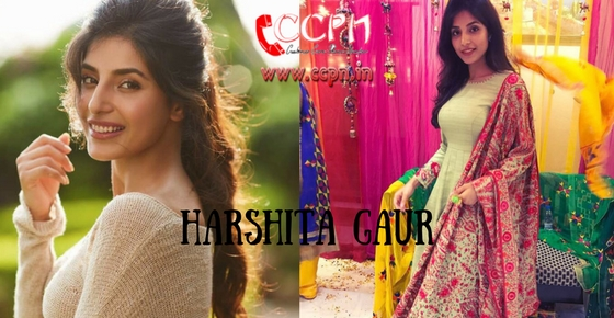 How to contact Actress Harshita Gaur?