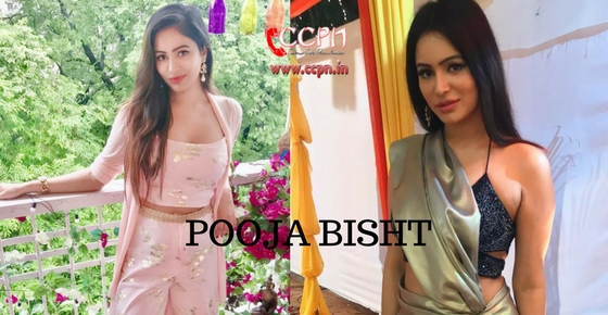 How to contact Actress Pooja Bisht?