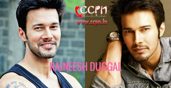 How to contact Actor and Model Rajneesh Duggal?