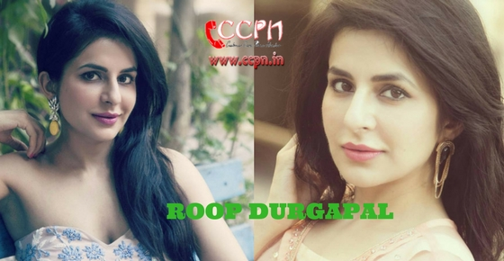 How to contact Actress Roop Durgapal?