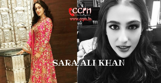 How to contact Actress Sara Ali Khan?