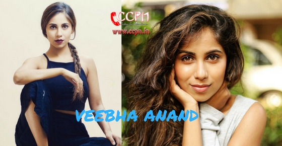 How to contact Actress Veebha Anand?