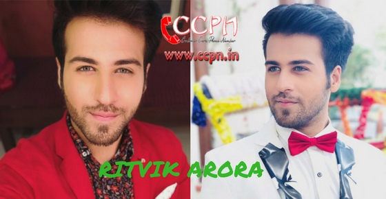 How to contact Actor Ritvik Arora?