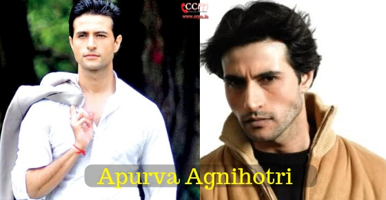 How to contact Actor Apurva Agnihotri?