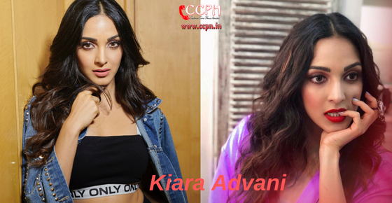 How to contact Actress Kiara Advani?