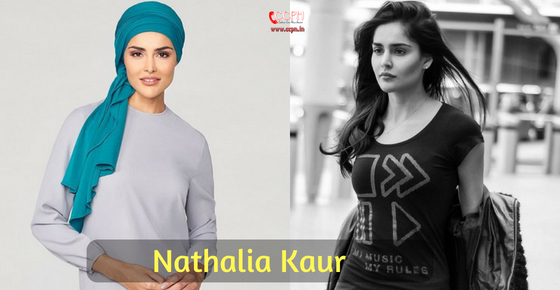 How to contact Actress and Model Nathalia Kaur?