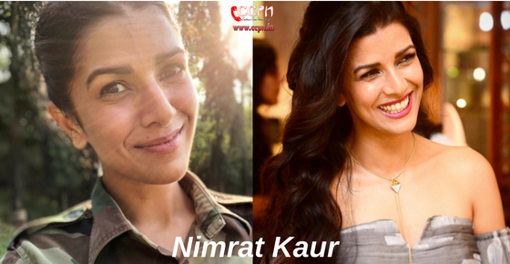 How to contact Actress Nimrat Kaur?