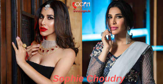 How to contact Actress Sophie Choudry?