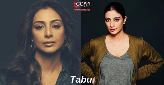 How to contact Actress Tabu?