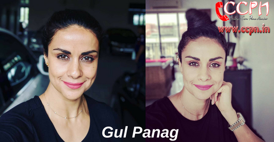 How to contact Actress and Model Gul Panag?