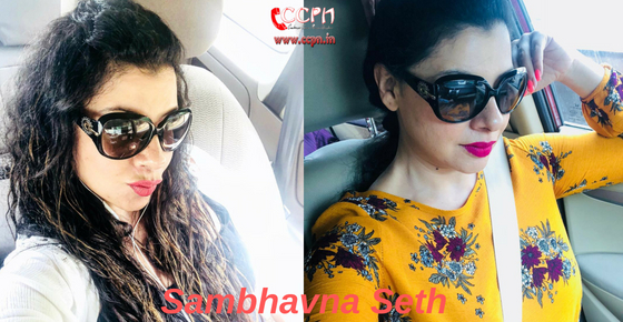 How to contact Actress and Dancer Sambhavna Seth?