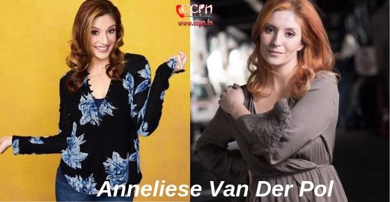 How to contact Actress, Dancer, SInger Anneliese Van Der Pol?