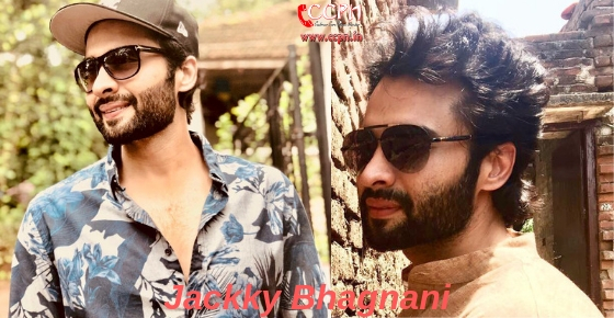 How to contact Actor Jackky Bhagnani?