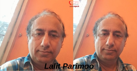 How to contact Actor Lalit Parimoo?