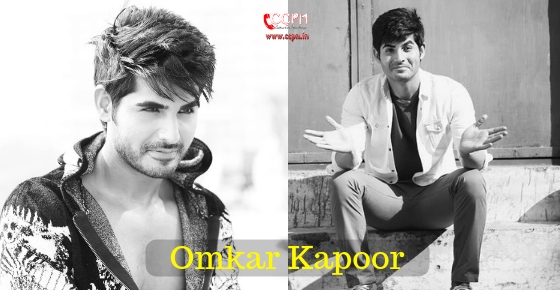How to contact Actor Omkar Kapoor?