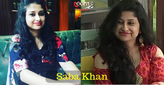 How to contact Bigg Boss 12 Contestent Saba Khan?