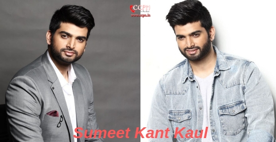 How to contact Actor Sumeet Kant Kaul?