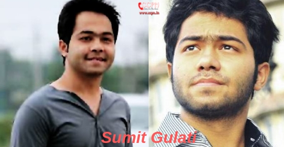 How to contact Actor Sumit Gulati?