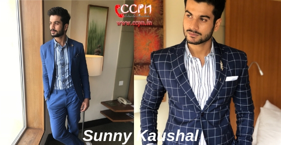 How to contact Actor Sunny Kaushal?