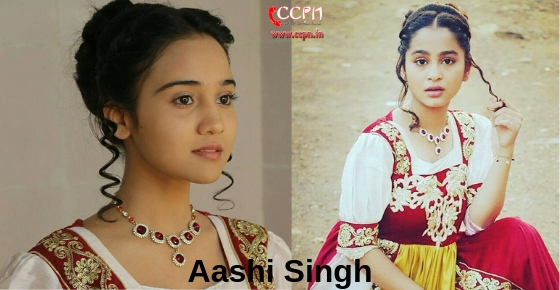 How to contact actress Aashi Singh?
