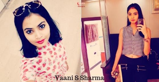 How to contact Actress Vaani S Sharma?