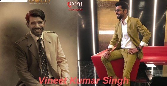 How to contact Actor Vineet Kumar Singh?