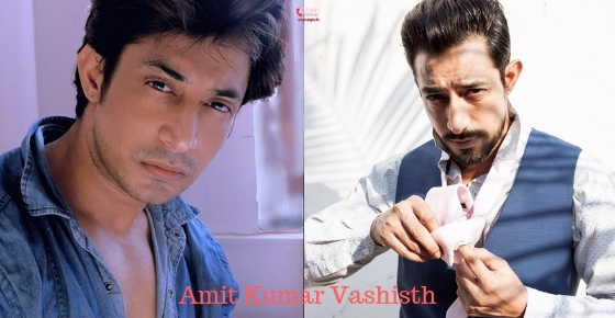 How to contact Actor Amit Kumar Vashisth ?