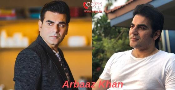 How to contact Actor, Director, Producer Arbaaz Khan