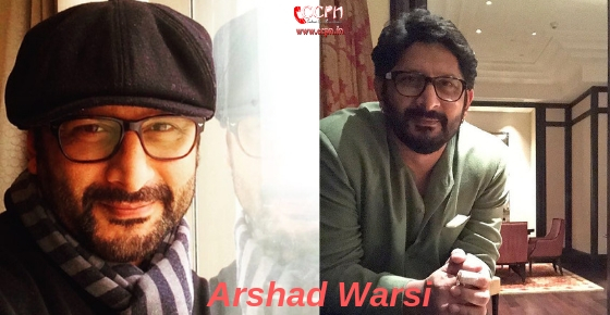 How to contact Actor Arshad Warsi?