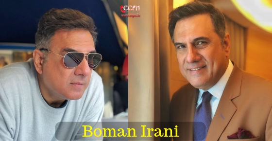 How to contact Actor Boman Irani?