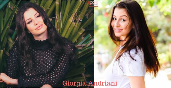 How to contact Model and Actress Giorgia Andriani?
