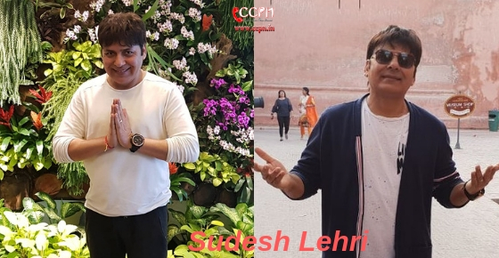 How to contact Actor and Comedian Sudesh Lehri?