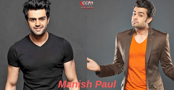 How to contact Actor,Anchor and Comedian Manish Paul?