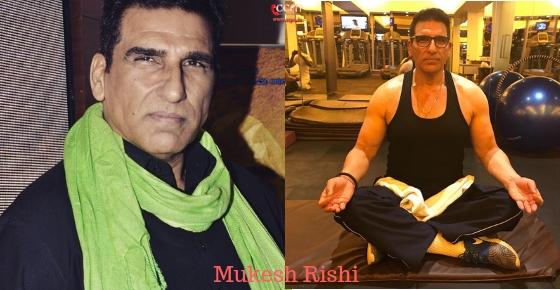 How to contact Actor Mukesh Rishi?