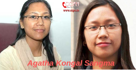 How to contact PoliticianAgatha Kongal Sangma?