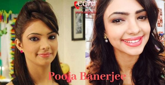 How to contact Actress Pooja Banerjee?