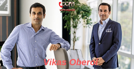 How to contact Entrepreneur Vikas Oberoi?