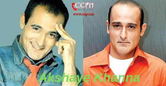 How to contact Akshaye Khanna?