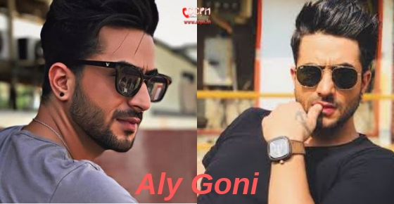 How to contact Actor and Model Aly Goni?