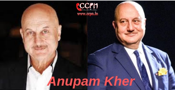 How to contact Anupam Kher?