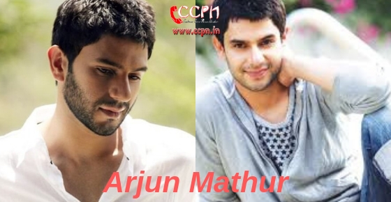 How to contact Actor Arjun Mathur?