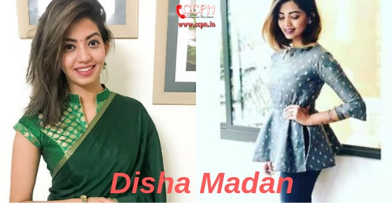 How to contact Disha Madan?