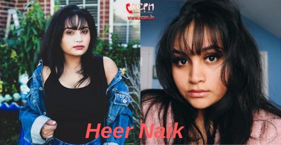How to contact Heer Naik?