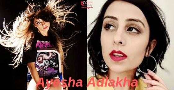 How to contact actress Ayesha Adlakha?
