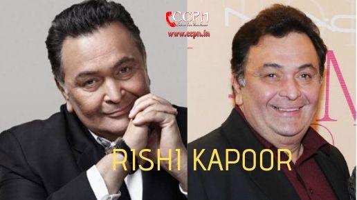 Rishi Kapoor Contact Details