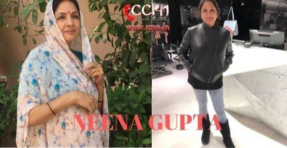 How to Contact Neena Gupta