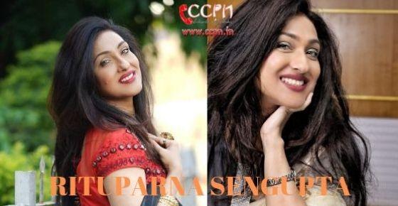How to Contact Rituparna Sengupta